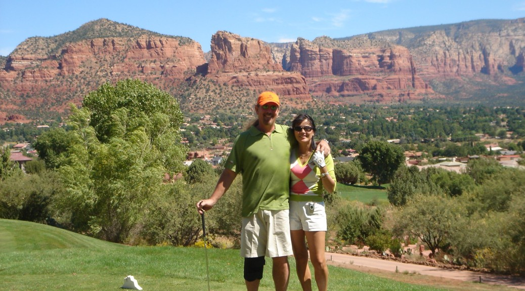 Brian Brenda Golf