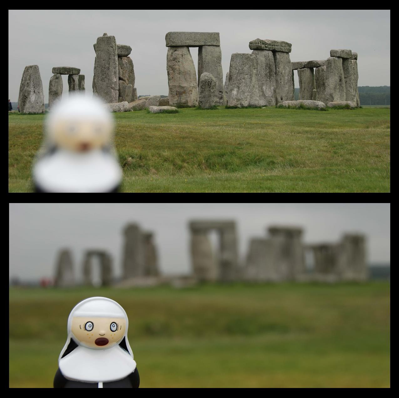 Sister at Stonehenge