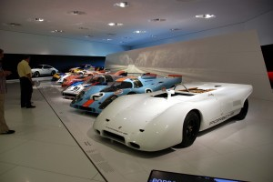 FrankfortPorsche Museum Race Cars