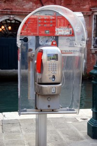 VeniceVenetian Phone Booth
